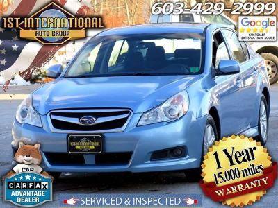 2011 Subaru Legacy 2.5i Premium (Blue)