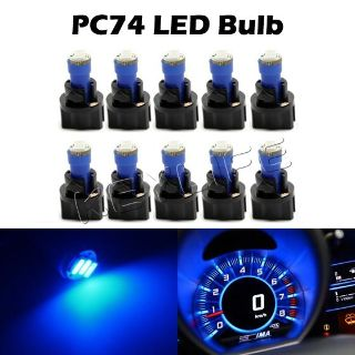 Sell Set of 10 Instrument Cluster 73 74 Led Light Bulb and Twist Lock PC Socket PC74 motorcycle in Cupertino, CA, US, for US $11.99