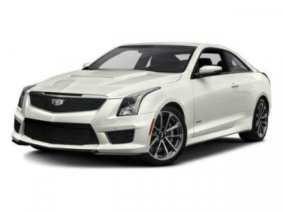 2016 Cadillac ATS-V Coupe VSER (Crystal White Tricoat)