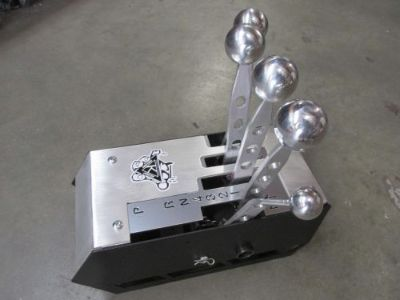 Sell Kilduff Giga Lightning Rod Shifter with chrome knobs motorcycle in Reseda, California, United States, for US $650.00