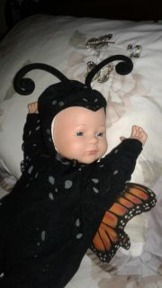 Anne Geddes Collectible Butterfly Baby Doll