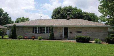 513 HOLLY Lane KOKOMO, Cute bedford stone Three BR home in