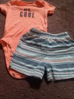 carters outfit 12 month