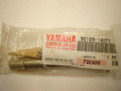 Purchase FACTORY YAMAHA REAR SUSPENSION BOLT FOR YZ WR # 90109-142F4 YZ125 WR400 YZ250F motorcycle in Appleton, Wisconsin, US, for US $9.95