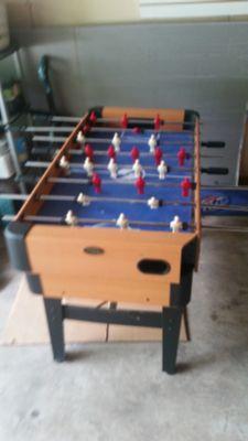 Foosball table/pool table