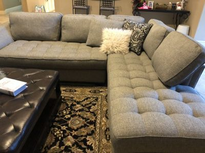Cindy Crawford sectional couch