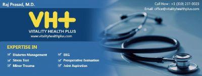 Raj Prasad, M.D. - Vitality Health Plus ( Los Angeles California)