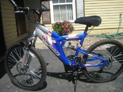 $150 1 Mongoose Spike & 1Roadmaster Mt. Fury bikes for sale (Palo, Iowa)