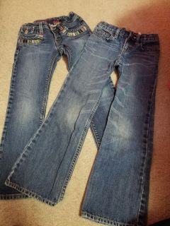 Size 6 Gap Girl Jeans, both for $5
