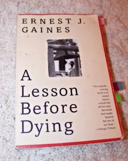 Vintage Contemporaries: A Lesson Before Dying by Ernest J. Gaines Paperback