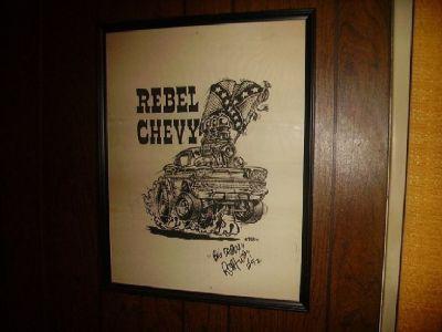 Ed Big Daddy Roth Rat Fink,Artist,Motocyle,Car.