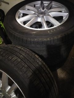Like New Land Rover Rims with Pirelli Scorpion Tires