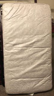 Crib mattress - both sides pictured - no rips or tears