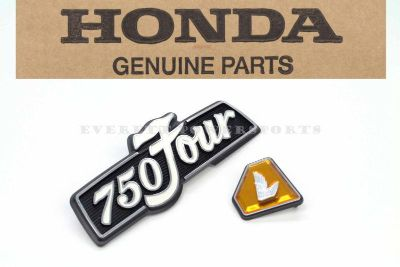Find New Honda Left Side Cover Emblem Set 72-76 CB750 K 750 Four OEM Badges #Z18 motorcycle in Everett, Washington, US, for US $79.99