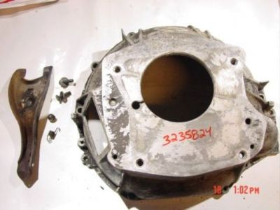Purchase 80-86 Jeep CJ Bell housing T4 T5 SR4 transmission CJ5 CJ7 Scrambler 3235824 motorcycle in Bernville, Pennsylvania, United States, for US $150.00