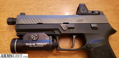 For Sale: Custom Sig P320 Jagerweks slide RMR
