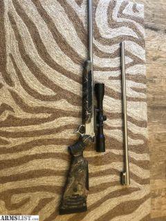 For Sale: Thompson Center Pro Hunter Combo