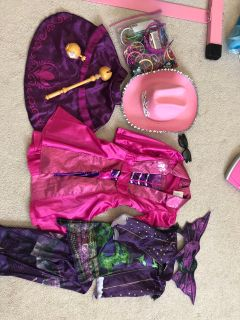 Dress up Costumes Size 4-6