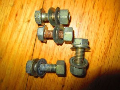 Sell DUCATI oem REAR SUBFRAME MOUNTING NUTS / BOLTS / WASHERS 748-998 #2 motorcycle in Tarzana, California, United States, for US $13.99