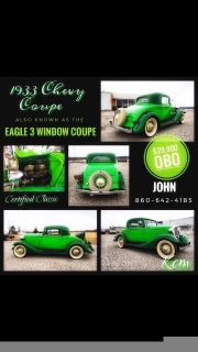 1933 Chevrolet Eagle 3 Window Coupe
