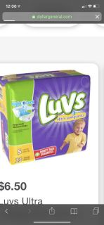 Size 4 and 5 live diapers
