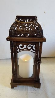Kirkland's Lantern With Flameless Candle