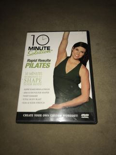 10 minute rapid results Pilates workout dvd