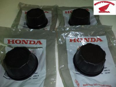 Purchase GENUINE HONDA PIONEER 700 PIONEER 500 OEM WHEEL CAPS motorcycle in Lafayette, Louisiana, United States, for US $14.95