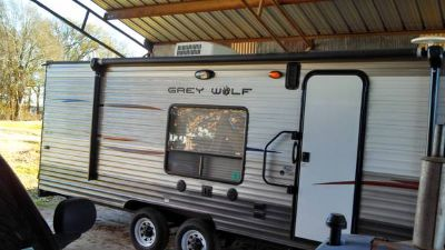 2014 Toy Hauler, Grey Wolf Travel Trailer by Forest River