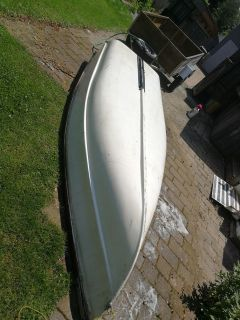 12 ft boat, motor and trailer