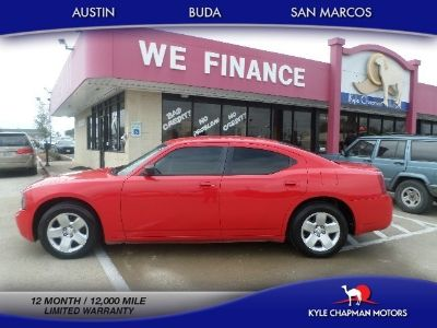 2008 Dodge Charger 4dr Sdn RWD-CLOTH-CD-MP3