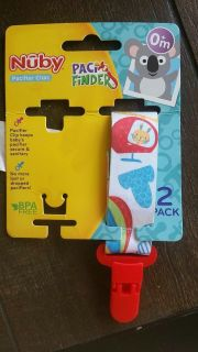 Nuby pacifier clip