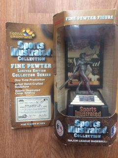 ***** KEN GRIFFEY JR. - 1997 Sports Illustrated (Limited Edition) Fine Pewter Figure *****