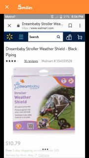 Never used brand new out of box stroller cover
