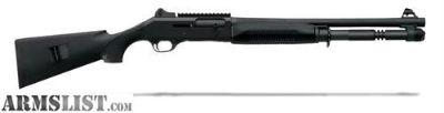 For Sale: Benelli M4 Tactical 12GA Black Shotgun 11703