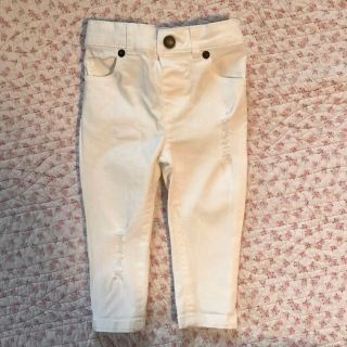 12-18 months white distressed skinny jeans