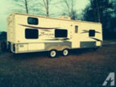 2011 zinger travel trailer with bunk house