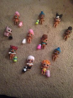 Lol Dolls $8.50 Each Selling as is. Or i can trade for some my toddler dont have.
