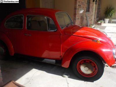 1969 Lady Bug Beetle -Original Owner - Project Car