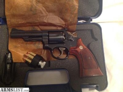 For Sale: Smith and Wesson model19-5