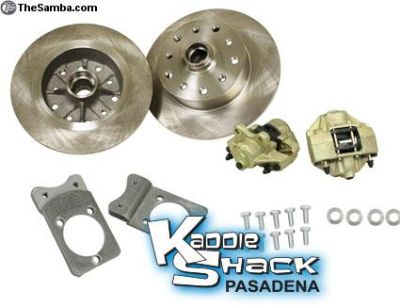 Porsche/Chevy Disc Brake Kit, can press bearings