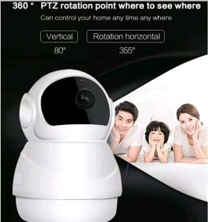 Budget HD Security Camera 1080P 2Way Audio, Pics and Video sent to your Smartphone