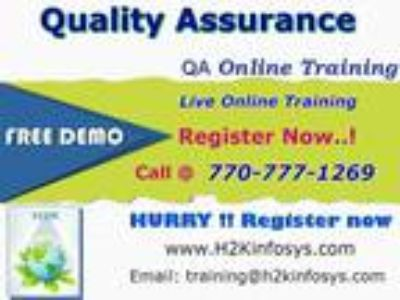Quality Assurance Online Training Courses with 100% Job Oriented