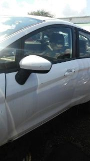 Sell FORD FIESTA Left /Driver front door 2011 2012 2013 White motorcycle in West Palm Beach, Florida, United States, for US $450.00