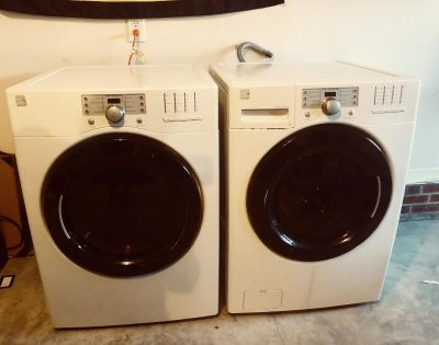 Kenmore HE front loaded washer and dryer set