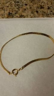 New gold plated bracelet for ladies