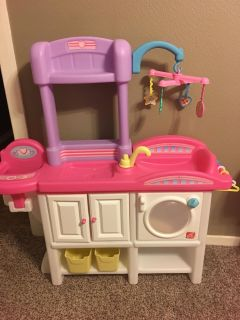 Step 2 baby doll play center