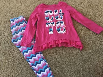 Faded glory outfit size 7