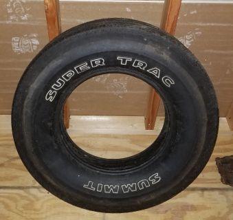 NOS Super Trac Summit bias tire