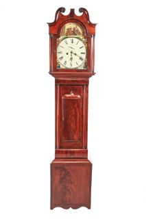 Antique Mahogany 8 Day Longcase Clock